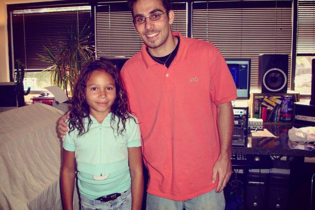 Jamella_Perkins_Asaf_Fulks_OC_Recording_Orange_County_Studio_Throwback