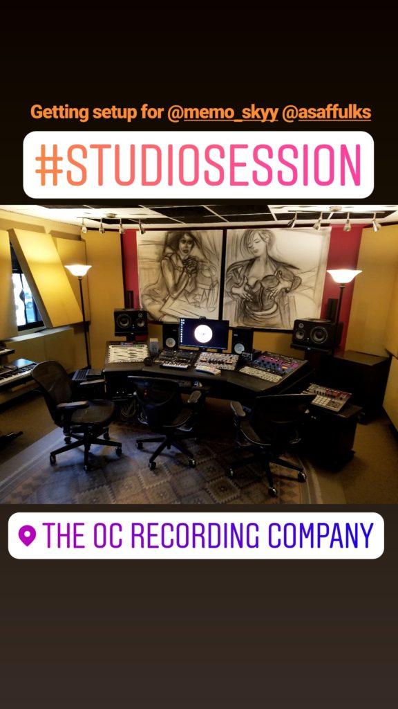 Recording Studio in Orange County, CA