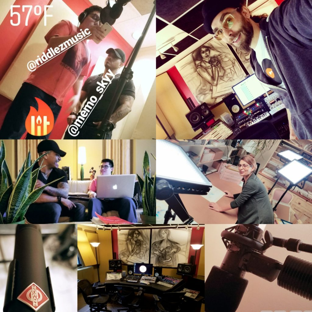 Recording Studio in Orange County, California