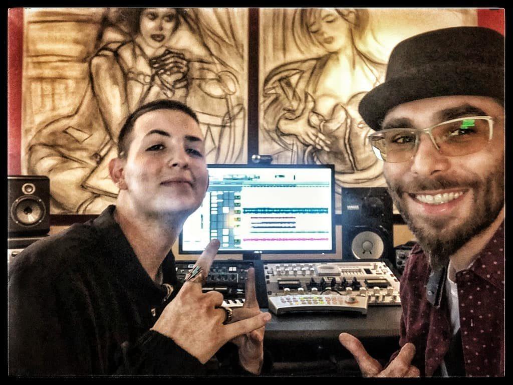Trigga Jay Fantastic In the Studio with Asaf Fulks at OC Recording Audio School