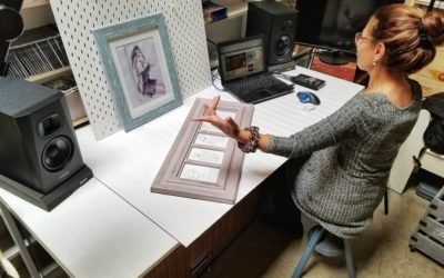 OC Recording, ADAM Audio and Yakira Shimoni Fulks Art