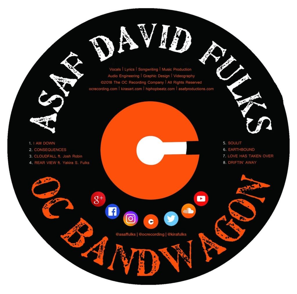 Asaf David Fulks - OC Bandwagon CD