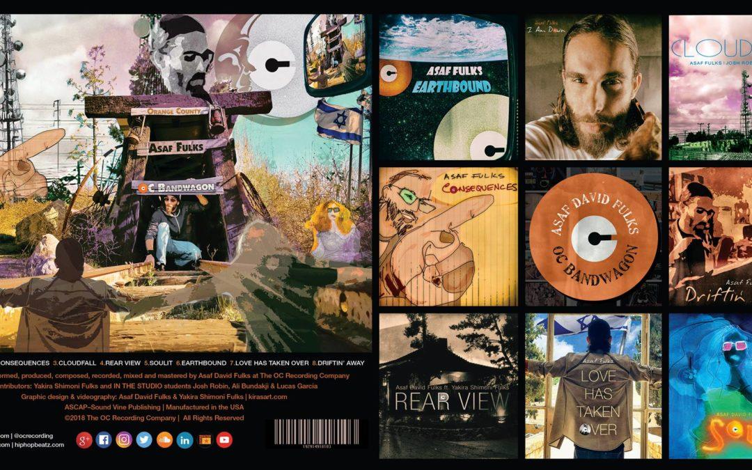 Asaf David Fulks solo album OC BANDWAGON is now playing!
