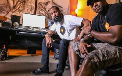 The homies C-Nice & Rosevelt Grindmode lookin' fresh to def in #ocrecording apparel!