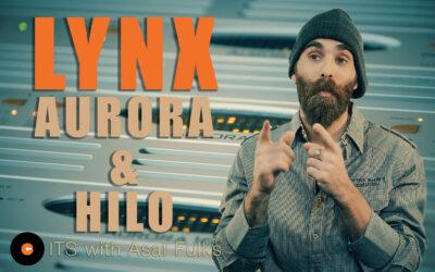 Lynx Aurora and Hilo AD/DA