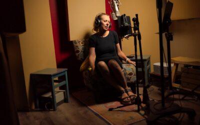 Recording Elizabeth Cronise McLaughlin's New Audio Book