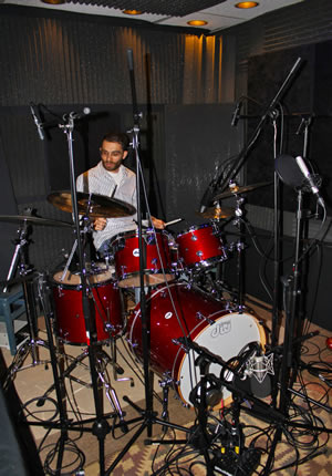 Asaf Fulks, The Oc Recording School, DW Drums, Micing