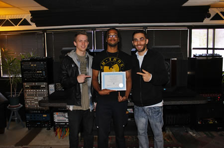 The OC Recording Schoool, Asaf Fulks, Eric Sheffield, Wayne Henderson