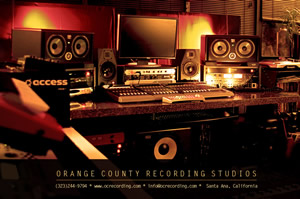 The OC Recording Company Is Orange County Californias Premiere Studio Our Specialty Professional Audio Mixing Mastering