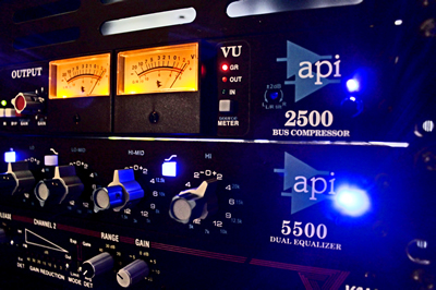 The OC Recording Company API 2500 and 5500 Analog Mixing and Mastering